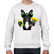 French Bulldog Brazillian Style Men's Sweatshirt Jumper