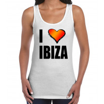 I Love Ibiza Women's Tank Vest Top