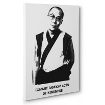 Dalai Lama Random Acts Box Canvas Print Wall Art - Choice of Sizes