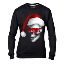 Santa Claus Skull Father Christmas Bah Humbug Women's Sweater \ Jumper