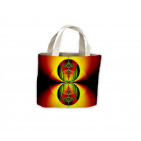 Psychedelic Spheres Tote Shopping Bag For Life