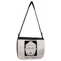 Inquire Within Buddhist Laptop Messenger Bag