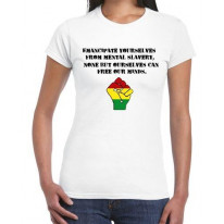 Emancipate Yourselves Women's Reggae T-Shirt