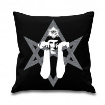 Aleister Crowley Hexagram Cushion