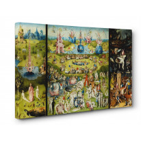Hieronymus Bosch Garden of Earthly Delights Box Canvas Print Wall Art - Choice of Sizes