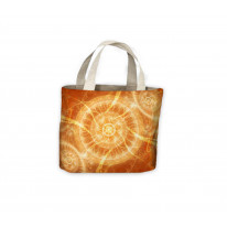 Orange Energy Karma Spiritual Tote Shopping Bag For Life