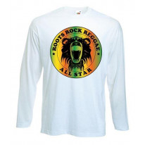 Roots Rock Reggae Men's Long Sleeve T-Shirt