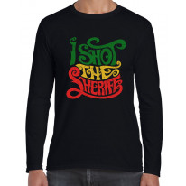 I Shot The Sheriff Reggae Long Sleeve T-Shirt
