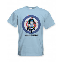 My Generation Mod Scooter Men's T-Shirt