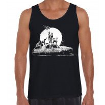 Banksy LA Flag Men's Tank Vest Top
