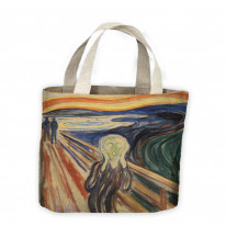 Edvard Munch The Scream Tote Shopping Bag For Life