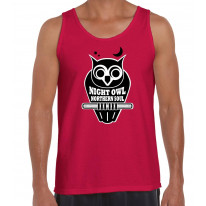 Night Owl Northern Soul Logo Men's Vest Tank Top