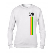 Lion of Judah Stripes Reggae Women's Sweatshirt Jumper
