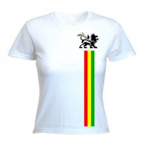 Lion Of Judah Stripes Women's T-Shirt