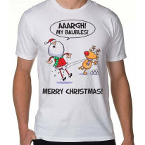 Santa Claus My Baubles! Men's T-Shirt