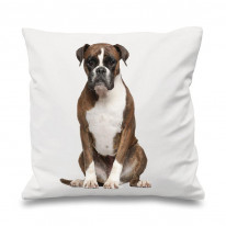 Boxer Dog Printed Scatter Cushion