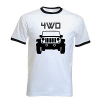 4WD - Four Wheel Drive Ringer T-Shirt