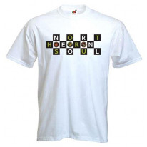 Northern Soul Badges Logo T-Shirt
