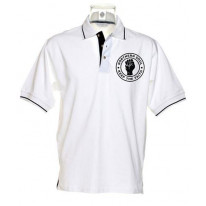 Northern Soul Keep The Faith Tipped Polo T-Shirt