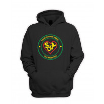 Northern Soul All Nighter Heart Logo Pouch Pocket Hoodie