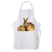 Mother Rabbit Kitchen Apron
