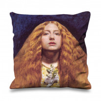 John Everett Millais The Bridesmaid Faux Silk 45cm x 45cm Sofa Cushion
