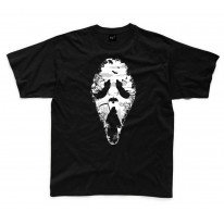 Grim Reaper Scream Kids Childrens T-Shirt