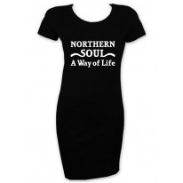 Northern Soul A Way Of Life T-Shirt Dress