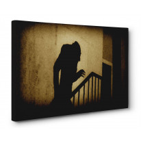 Nosferatu Stairs Box Canvas Print Wall Art - Choice of Sizes