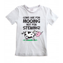 Vegetarian Cows Are For Mooing Unisex Children's T-Shirt