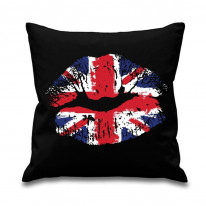Union Jack Lips Scatter Cushion