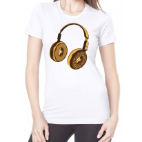 Headphone Donut DJ Women's T-Shirt