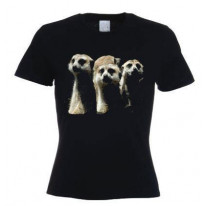 Meerkat Family Women's T-Shirt