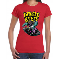 Jungle Beats Junglist DJ Women's T-Shirt