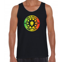 Jah Is Mighty Reggae Men's Tank Vest Top