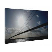 Humber Bridge Box Canvas Print Wall Art - Choice of Sizes