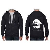 Karl Marx Quote Full Zip Hoodie