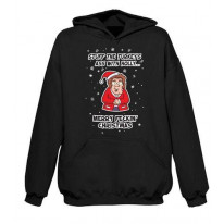 Mrs Browns Boys Turkey's Ass Funny Christmas Hoodie