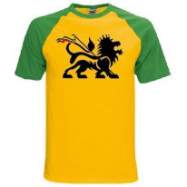 Lion Of Judah Baseball T-Shirt