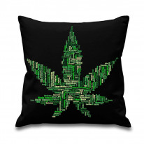 Cannabis Slang Names Funny 46 x46 cm Sofa Cushion