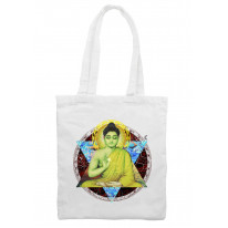 Buddha Dharma Buddhist Tote Shoulder Shopping Bag
