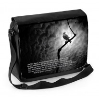 The Raven Edgar Allan Poe Laptop Messenger Bag