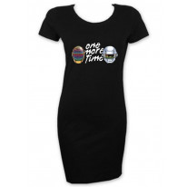 Daft Punk One More Time Short Sleeve T-Shirt Dress