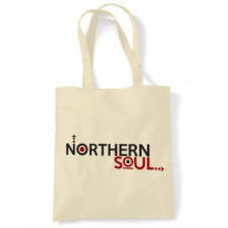 Northern Soul Arrows Logo Shoulder Bag