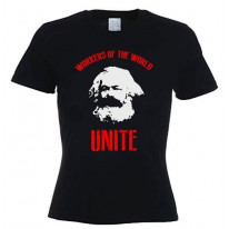 Karl Marx Workers Of The World Women's T-Shirt