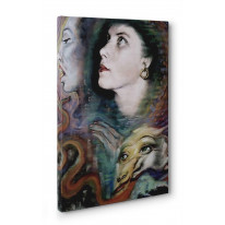 Austin Osman Spare Dragons Breath Box Canvas Print Wall Art - Choice of Sizes