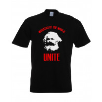 Karl Marx Workers Of The World T-Shirt