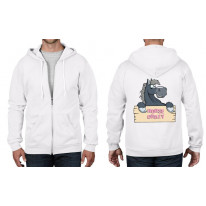 Horse Crazy Riding Full Zip Hoodie