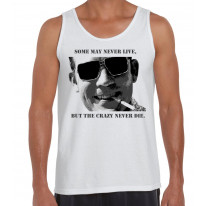 Hunter S Thompson Crazy Quote Men's Tank Vest Top