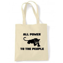 Black Panther Power To The People Shoulder Bag